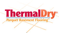 ThermalDry® parquet basement floor tiles