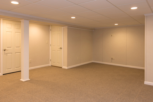Finished basement pictures gallery first buffalo total for Design my basement online free