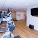 Basement gym & playroom